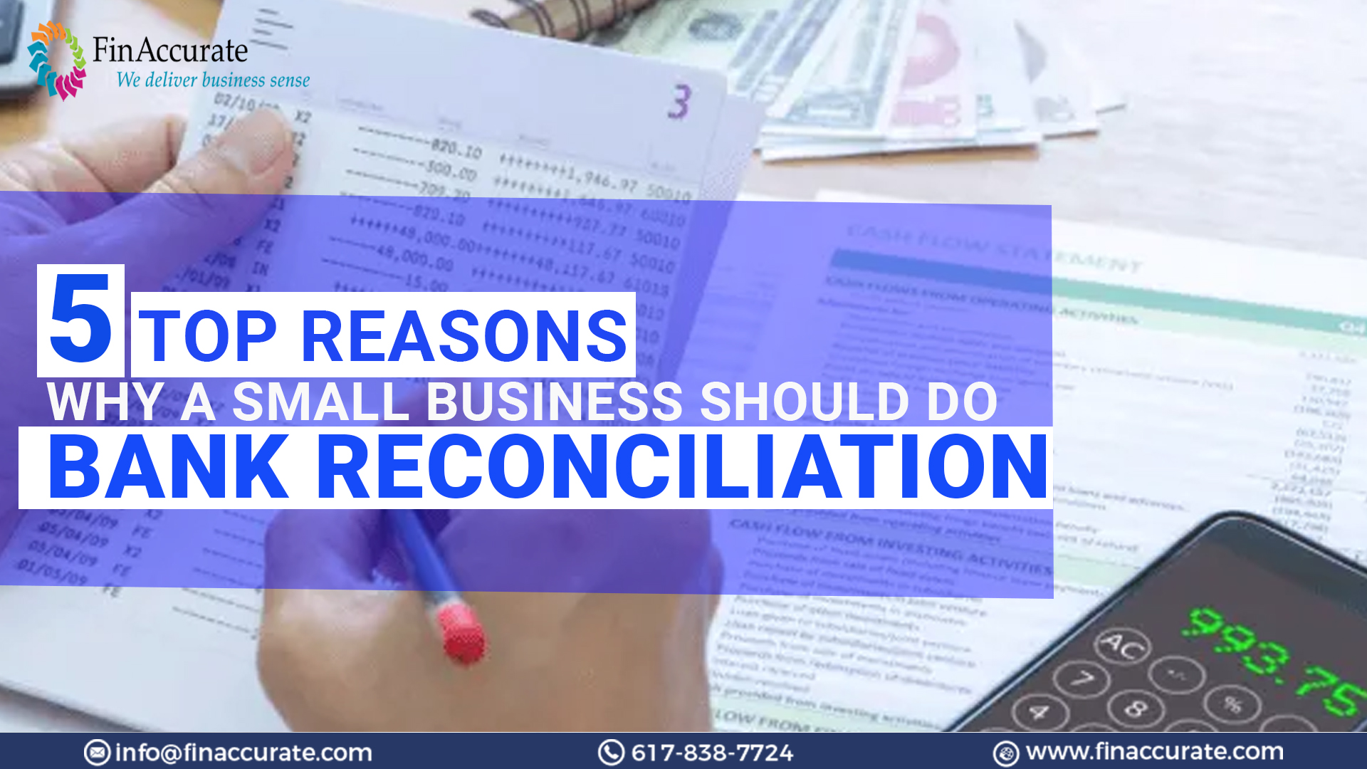Top 5 Reasons Why a Small Business Should Do Bank Reconciliation